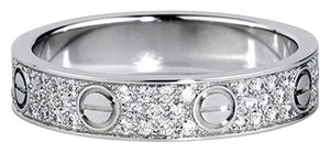 Cartier Cartier Love Ring 18K White Gold Pave DIAMONDS