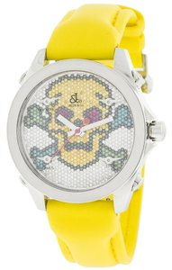 Jacob & Co. Jacob & Co JCMSKULL1 Five Time Zone Diamond Skull Dial Watch (3382)