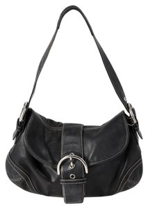 Coach Signature Soho Leather Shoulder Bag