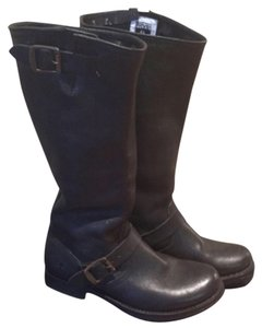 Frye Veronica Slouch Black Boot Size 8 Black Boots