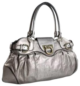 Salvatore Ferragamo Satchel in Silver
