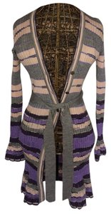 Missoni Cardigan Purple Pink Sweater
