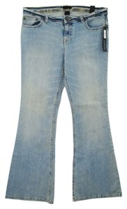 The Limited Flare Leg Jeans-Light Wash