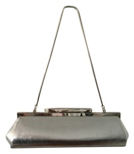 Bakers Silver Clutch