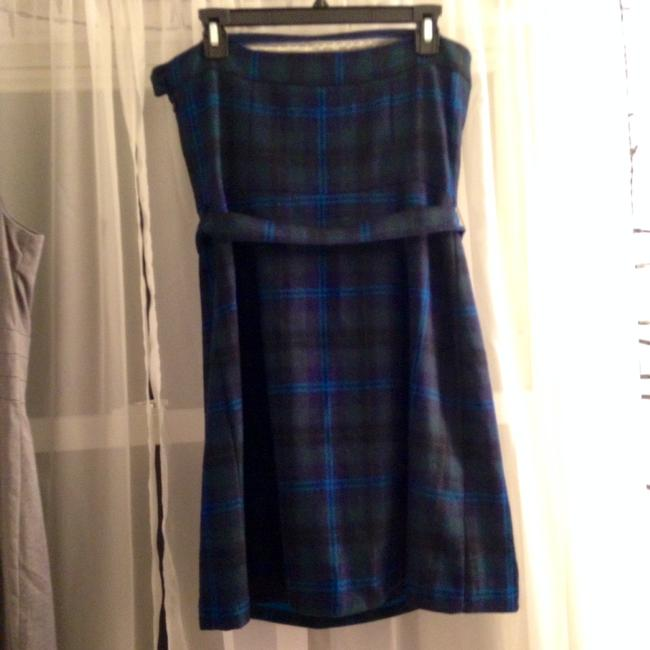 American Eagle Outfitters short dress Dark Green Plaid on Tradesy