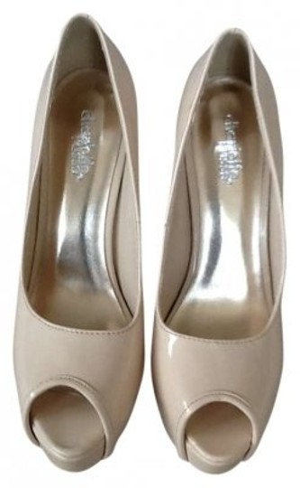 Charlotte Russe tan Pumps