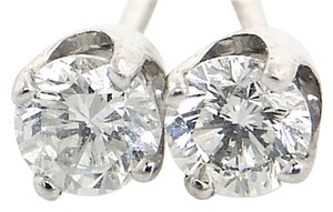 ABC Jewelry 3/4 ct brilliant cut diamond studs