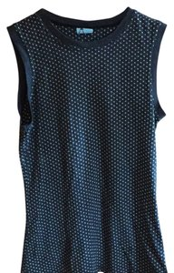 Urban Outfitters Top Black/ white polka-dots