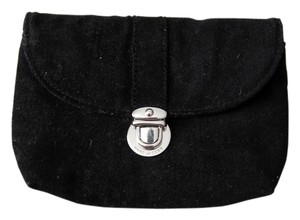 Marc Jacobs Cosmetic Pouch Velvet Black Clutch