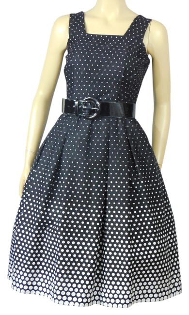 Preload https://img-static.tradesy.com/item/12964060/black-white-vintage-80s-polka-dot-matching-cropped-jacket-s-mid-length-workoffice-dress-size-petite-0-4-650-650.jpg