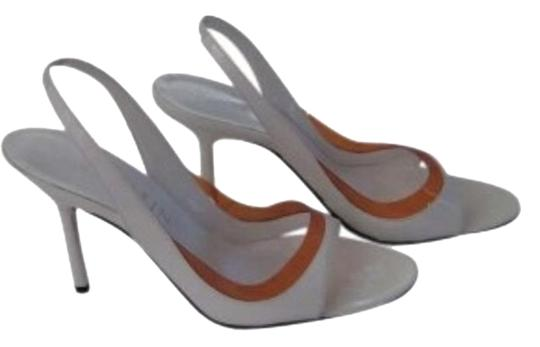 Preload https://item5.tradesy.com/images/anne-klein-white-with-orange-trim-sandals-size-us-75-129644-0-1.jpg?width=440&height=440