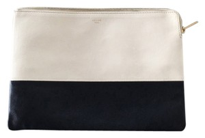 Céline Black White Clutch