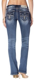 Rock Revival Semak Boot Cut Jeans-Medium Wash