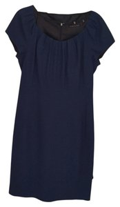 Elie Tahari short dress navy on Tradesy