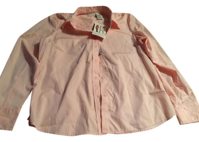 Preload https://item3.tradesy.com/images/white-stag-pink-blouse-size-14-l-1296517-0-0.jpg?width=400&height=650