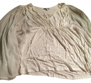 bebe Top Off White