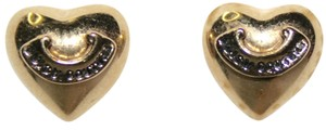 Juicy Couture Juicy Couture Puffed Heart Earrings