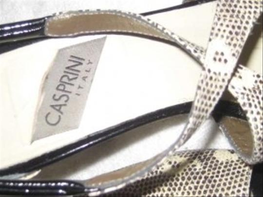 Casprini Grey & White Sandals