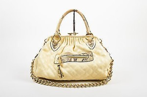 Marc Jacobs Tan Coated Tote in Yellow