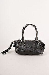 Chanel Pebbled Leather Shoulder Bag