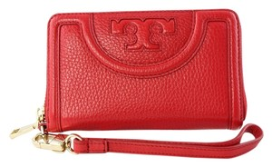 Tory Burch 'Serif T' Leather Continental Wallet