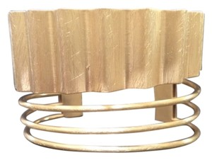 Other Art Deco Brushed Gold Cuff
