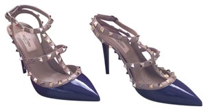 Valentino Deep purple and nude Pumps
