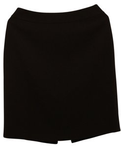 Ann Taylor Pencil Bussiness Work Formal Skirt Black