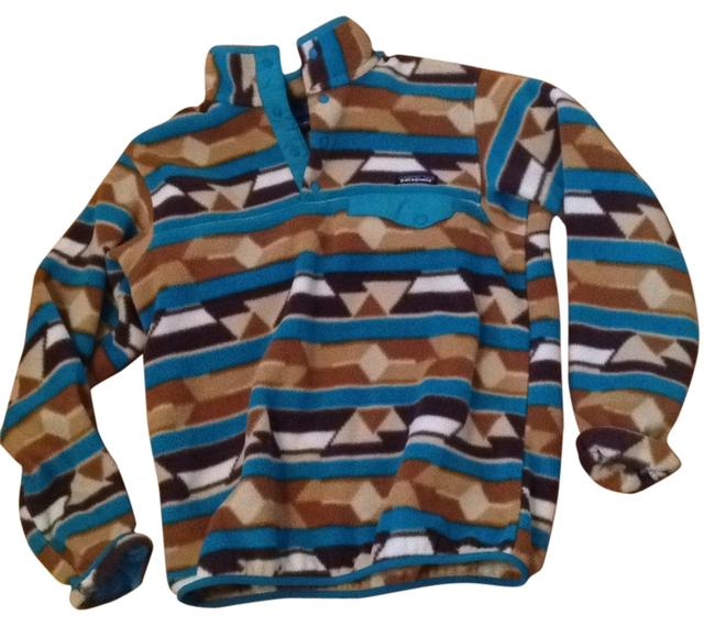 Item - Brown Blue Activewear Size 4 (S)
