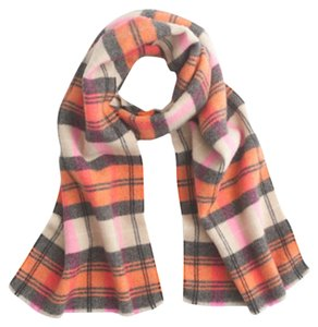 J.Crew J.Crew Italian Wool Blend Scarf in Classic Plaid NWT SOLD OUT ONLINE