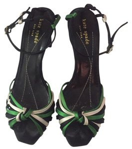 Kate Spade Green, black, white Formal
