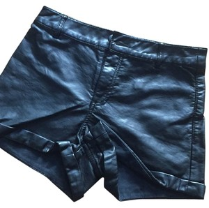 H&M Cuffed Shorts Black
