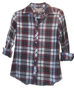Banana Republic Button Down Shirt Plaid