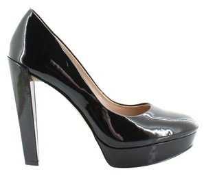French Connection Nambia Heels Patent Black Platforms