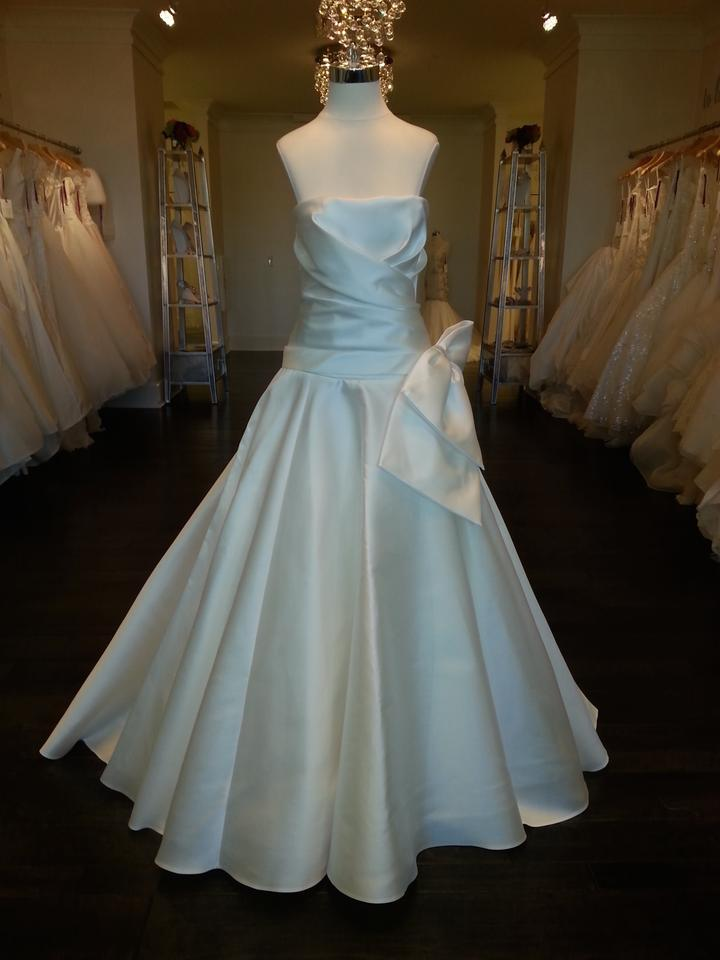 Cymbeline Paris Light Ivory Mikado Honolulu Formal Wedding Dress ...