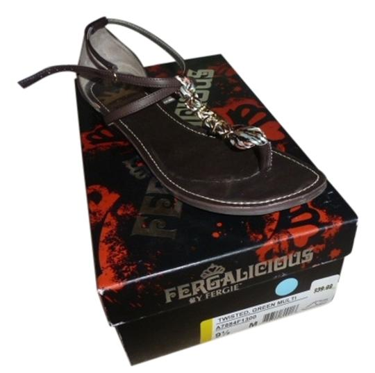Preload https://item5.tradesy.com/images/fergalicious-by-fergie-brown-twisted-green-sandals-size-us-95-regular-m-b-1296924-0-0.jpg?width=440&height=440