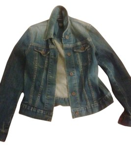 Gap Blue JEAN Womens Jean Jacket