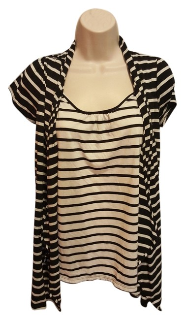 Preload https://img-static.tradesy.com/item/12969793/two-hearts-maternity-black-and-white-striped-shirt-maternity-cardigan-size-4-s-27-0-3-650-650.jpg