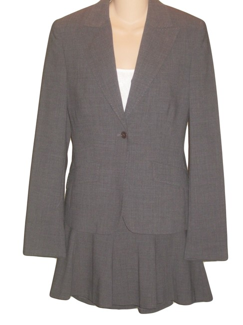 Express Express Grey Business Skirtsuit Size 8 / 6