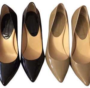 Banana Republic Black and Nude Pumps