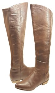 Steve Madden Riding Tall Brown Leather Boots