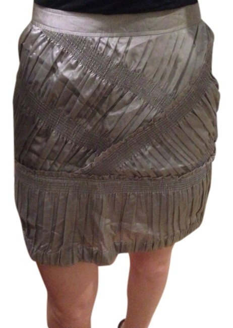 Item - Silver Runway Skirt Size 8 (M, 29, 30)