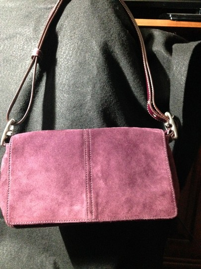 Coach Leather Suede Cross Body Bag Image 3