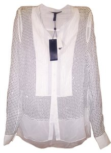 BCBGMAXAZRIA Button Down Shirt GARDNIACOM