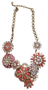 J.Crew Jcrew floral lattice necklace
