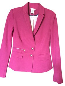 Esley Fitted fuschia Blazer