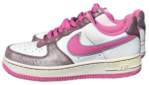 Nike Air Air Force White Pink Pink/white Athletic