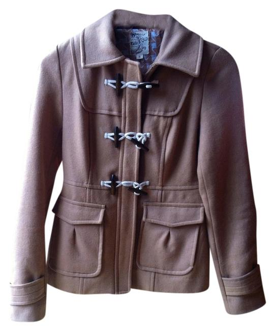 Item - Camel Wool Coat Size 4 (S)