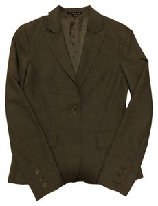 Theory Single Button Jacket Grey Blazer
