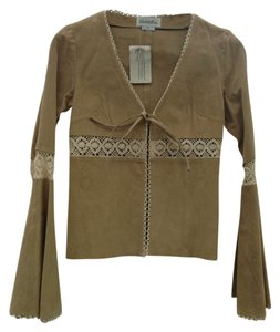 Preload https://item3.tradesy.com/images/charlotte-russe-tan-suede-leather-jacket-size-6-s-129727-0-0.jpg?width=400&height=650